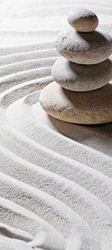 Bilderdepot24 Türtapete selbstklebend | Relaxing | in 90x200 cm | einteilig Türaufkleber Türfolie Türposter | Wand-deko Dekoration Wohnung | 11244a