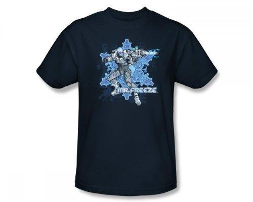 Batman - Mr. Freeze Slim Fit Camiseta adulta En la marina de...