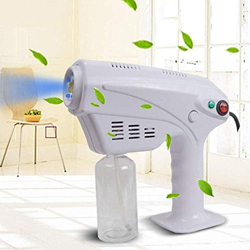 BATOWE Sprayer Electrostatic Sprayer, Atomizing Sprayer, Blue Light Nano Spray Gun Adjustable, Widely Used Spray Humidification Home, Clothes, Vehicle