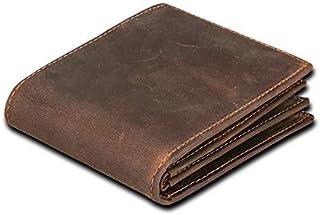 Anowey Dark Brown Leather For Men - Smart Wallets