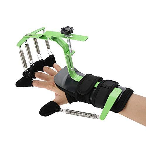 Entrenamiento de muñeca con dedos, dispositivo ortopédico dinámico de muñeca y dedos Entrenamiento de fisioterapia con dedos para mujeres y hombres