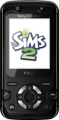 Sony Ericsson F305 Handy (2MP, Motion Gaming, 3D-Spiele, UKW-Radio) Mystic Black