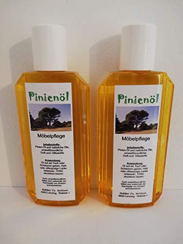 Pinienöl, Holzöl und Holzpflege, 200ml, hochwertige und natürliche Öle, 2er Pack