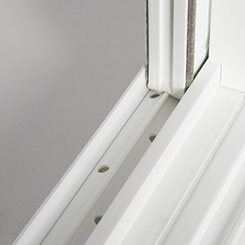 "Park Ridge VBSI3214PR Vinyl Basement Slider Window, 32"" x 14"", White"