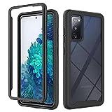Flyuzi Étui de téléphone Acrylique de Protection complète pour Samsung Galaxy S20 Fe S21 S10...