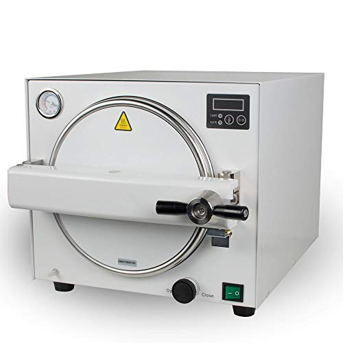 CARESHIENE Lab Autoclave Steam Sterilizer 18L Sterilization Equipment Vacuum Steam Machine Mini Lab US Shipping