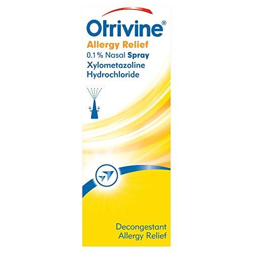 Otrivine Allergy Relief 0.1 Percent Nasal Spray 10 ml
