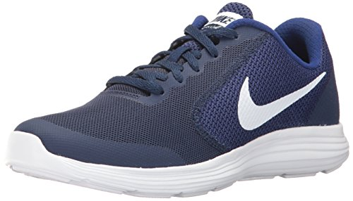 Nike Kids YA Running Revolution 3 GS - Binary Blue/White