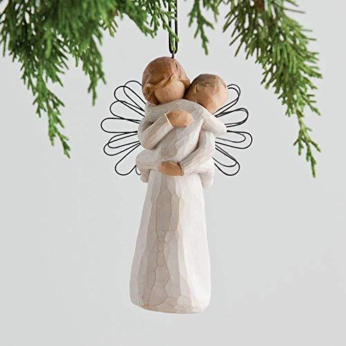 Willow Tree 26089 Angelo dell'Abbraccio Resina, Design di Susan Lordi, 11.5 cm