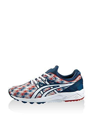 ASICS Sneaker Gel-Kayano Trainer Evo blau/weiß/rot EU 37.5 (US 5)