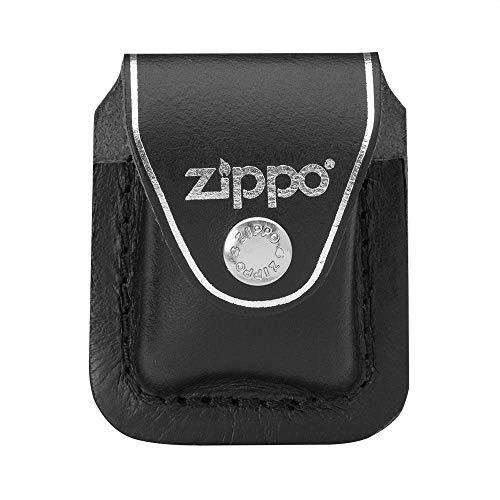 Zippo Feuerzeugtasche Beutelklemme, Schwarz