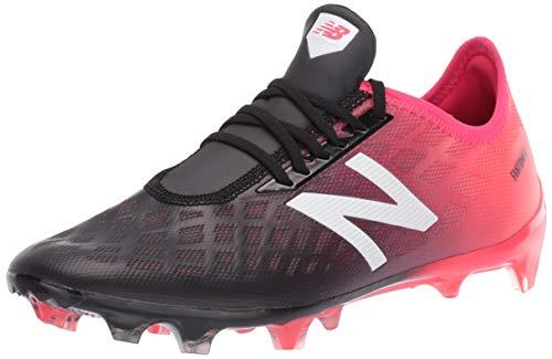 New Balance Men's Furon 4.0 Pro Firm Ground Soccer Shoe, Bright Cherry/Black/White, 6.5 2E US