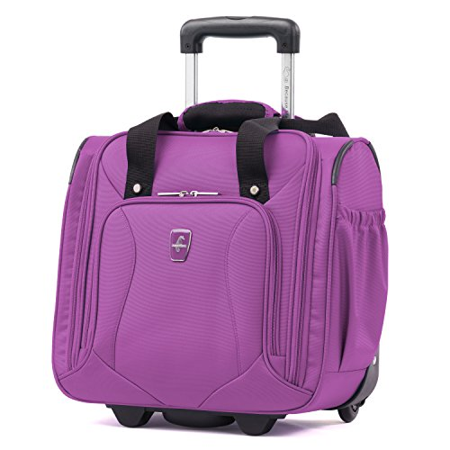 Atlantic Luggage Atlantic Ultra Lite Softsides Rolling Underseat Carry-on, Bright Violet, One Size