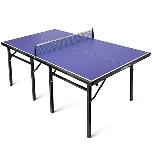 GOLDORO Table Tennis Table Professional MDF Pingpong Table Outdoor/Indoor with