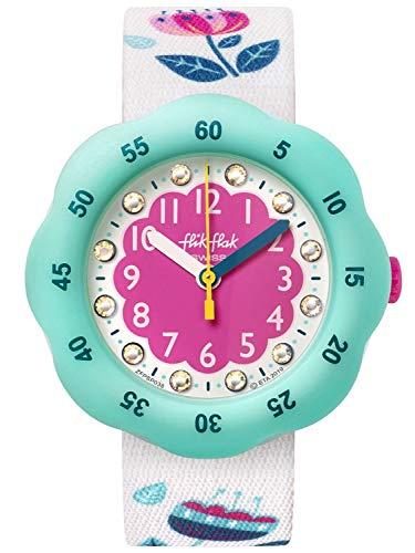 Flik Flak Unisex Analog Schweizer Quarz Uhr mit Textil Armband FPSP038