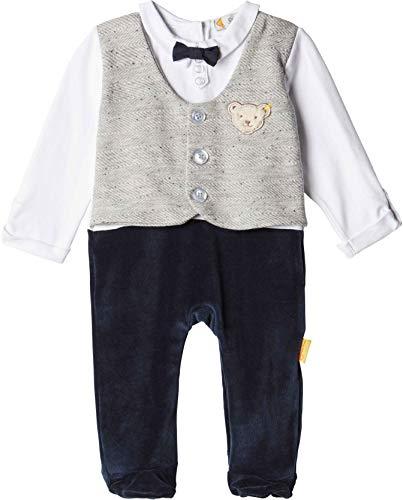 Steiff Baby Jungen festlicher Anzug Strampler Special Day (Größe 80, 80)