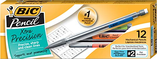 BIC(R) Mechanical Pencils, 0.5 mm, Pack Of 12