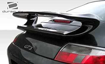 Extreme Dimensions Duraflex Replacement for 1999-2004 Porsche 911 Carrera 996 2DR Coupe GT-3 Look Wing Trunk Lid Spoiler - 1 Piece