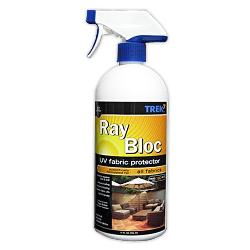 Trek7 Ray Bloc UV Fabric Spray Sun Protector, 32 Oz