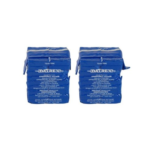 Datrex 3600 Calorie Emergency Food Bar for Survival Kits, Disaster Preparedness, Survival Gear, Survival Supplies, Schools Supplies, Disaster Kit 25.4 oz. (4 Pack)