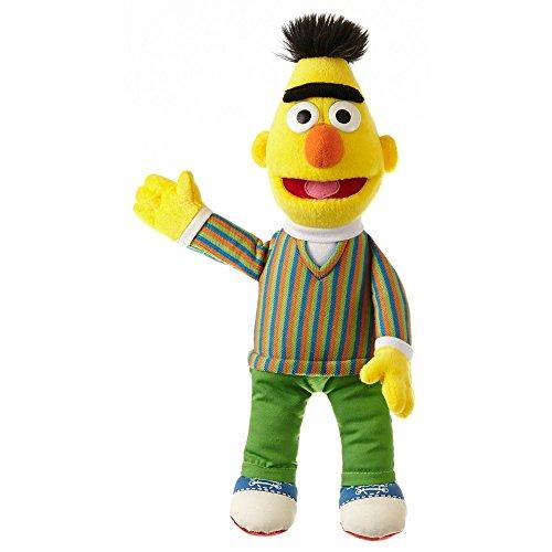 Living Puppets große Plüschfigur Bert aus der Sesamstraße 33 cm