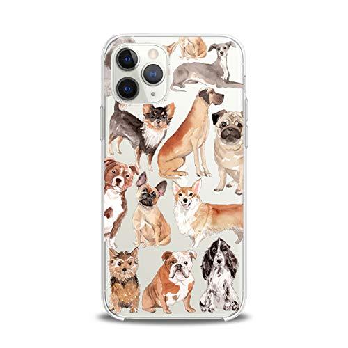 Lex Altern Case Compatible with iPhone 12 Mini 5G 11 Pro Xs Max Xr 8 X 7 Plus 6 SE 5 Puppy Lightweight Girls Corgi Animal Women Art Cover Pomeranian Teen Smooth Print Design Clear Slim fit Soft Dog