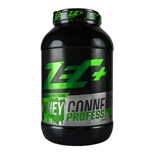 ZEC+ Whey Connection Professional – 2500 g, Proteinpulver aus Whey Konzentrat & Whey Protein, Protein Shake mit Eiweißpulver & Aminosäuren (BCAAs), Geschmack Erdbeere