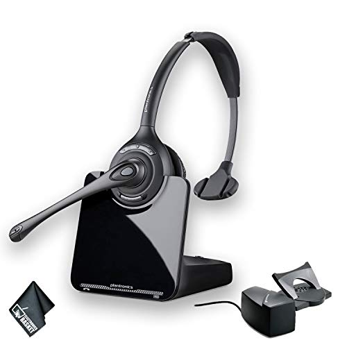 Plantronics CS510 Wireless Headset System Bundle + HL10 Handset Lifter