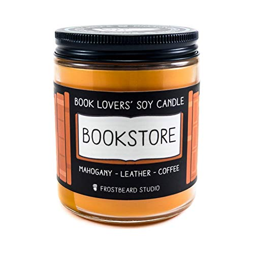 Bookstore - Book Lovers' Soy Candle - 8oz Jar