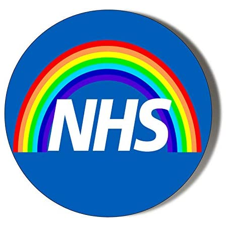 45mm Badge, NHS BADGE Thank you gift Support The NHS