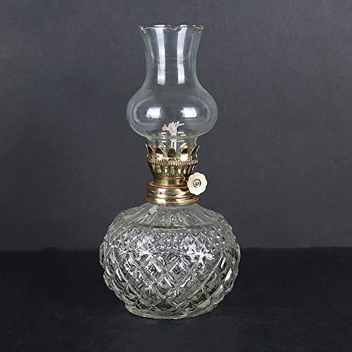 Klassische Öl Lampe Home Notlicht Stromausfall Antike Petroleumlampe Runde Körper Butter Lampe Für Buddha Licht Vintage Requisiten DIY