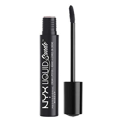 NYX PROFESSIONAL MAKEUP Liquid Suede Cream Lipstick - Alien (Black)