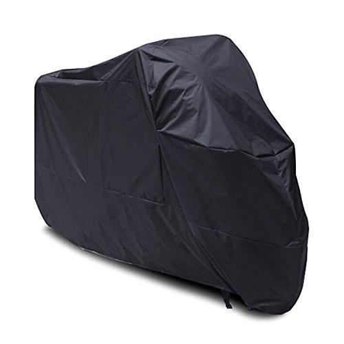 yoeeku impermeable bicicleta garaje cubierta Carcasa universal bicicleta tejido lona Lluvia Protección Funda o Lona Bike Rain Cover, negro