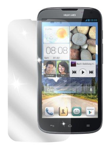 dipos I 2X Schutzfolie klar kompatibel mit Huawei Ascend G610 Folie Bildschirmschutzfolie