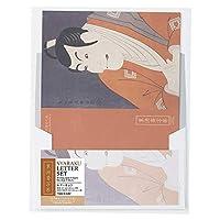 ナカバヤシ レターセット・写楽コイアメ/7 42-3223