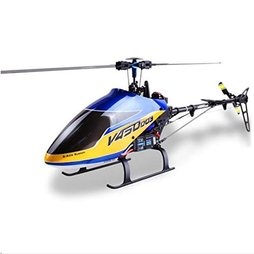 redcolourful RC Helicóptero Walk-era V450D03 Generación II 2.4G 6CH 6-Axis Gyro 3D Flying Brushless RC Helicóptero BNF Interesante Juego Cerebro