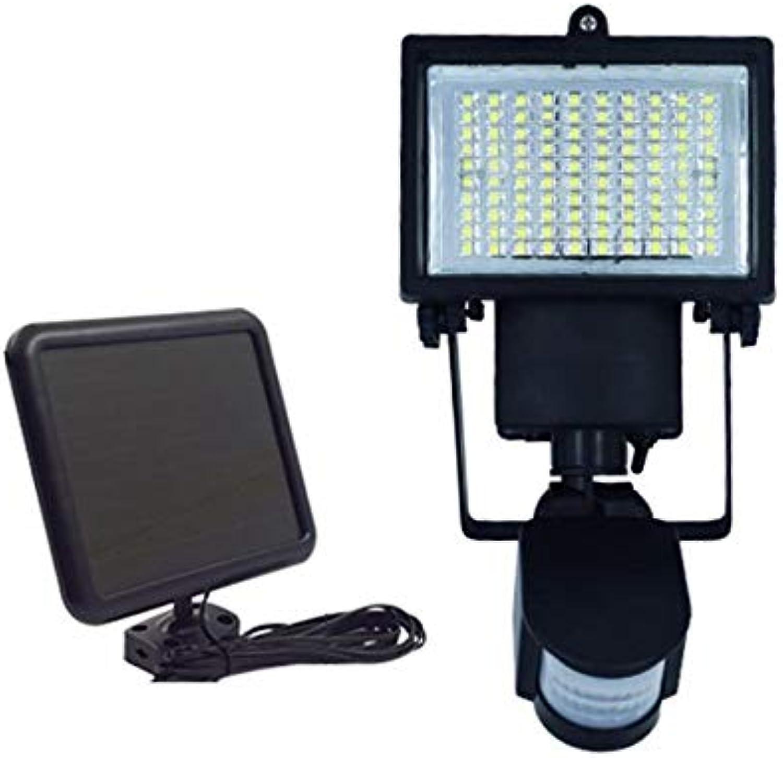 Hongge Solarlampen für auen,Solar 100led, Induktion Lampe Infrarot-Strahler Lampe Garage Lampe Garten Projektionslampe 27,5  13,5 cm