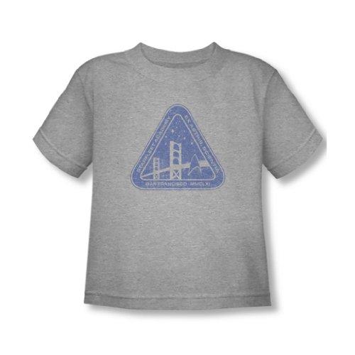 Star Trek - - Tout-petit Logo affligé T-shirt En Heather, 2T, Heather