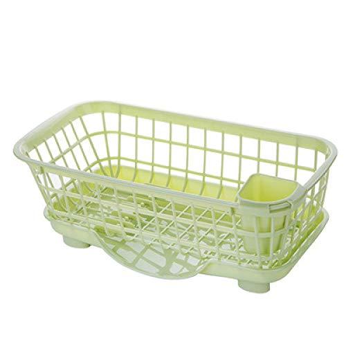 Estante de secado de platos, multifunción, cesta de drenaje, armario, estante de almacenamiento de goteo para platos, vajilla, organiza almacenamiento de drenaje