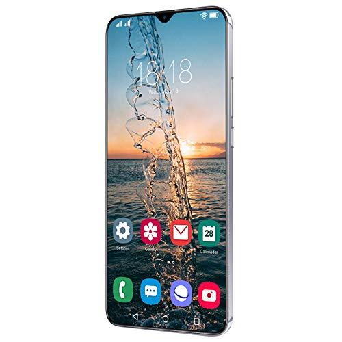 Oferta De Teléfono Inteligente Android 11.0, Teléfono Móvil con Cámara Cuádruple De 6,7'y 32 MP, 4 GB + 64 GB, 2 Ranuras para Tarjetas, Doble SIM, Batería OTG De 6800 MAh, Desbloqueo Facial + Huell