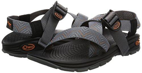 Chaco New Zvolv Lead Gray 9 Mens Sandals