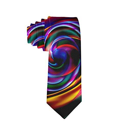 Cravate noire à teinture cravate en textile polyester classique à la mode pour hommes