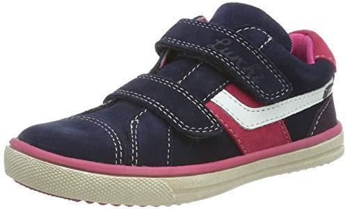 Lurchi Mädchen MINO-TEX Sneaker, Blau (Navy Pink 22), 25 EU