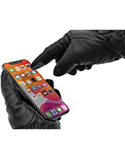 Wantalis Digiskin stickers voor touchscreen-handschoenen, zwart, eenheidsmaat (10 stuks) uniseks