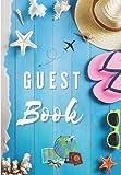 Guest Book: Registro de huéspedes para el alquiler de casas y apartamentos de vacaciones - Trilingüe (inglés, francés y español)