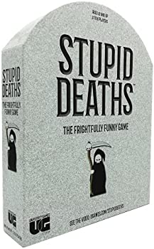 University Games Stupid Deaths The Party Game