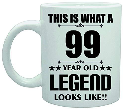 11039 Dit is Wat een 99 Jaar Oude Legende Lijkt Verjaardag Plezier Grap Koffie Theekop Keramische Vaatwasser safemug