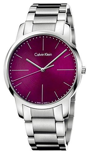 Calvin Klein City K2G2G14P Reloj de Pulsera para Hombres