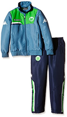 Kappa Kinder Anzug VFL Präsentationsanzug, 833 Jeans, 152