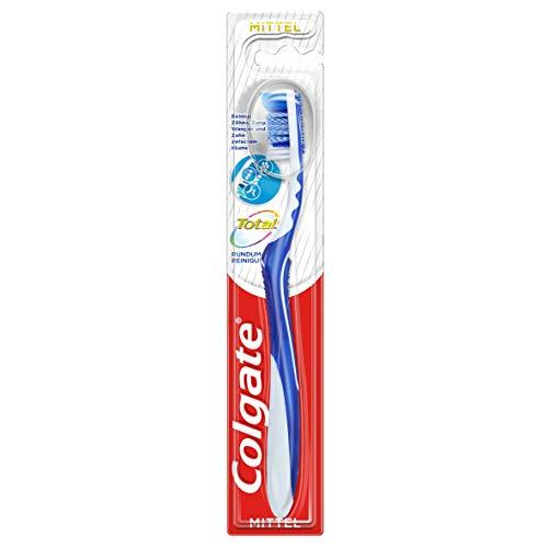 Colgate Total Zahnbürste Rundum-Reinigung, mittel, (1 x 1 Stück)